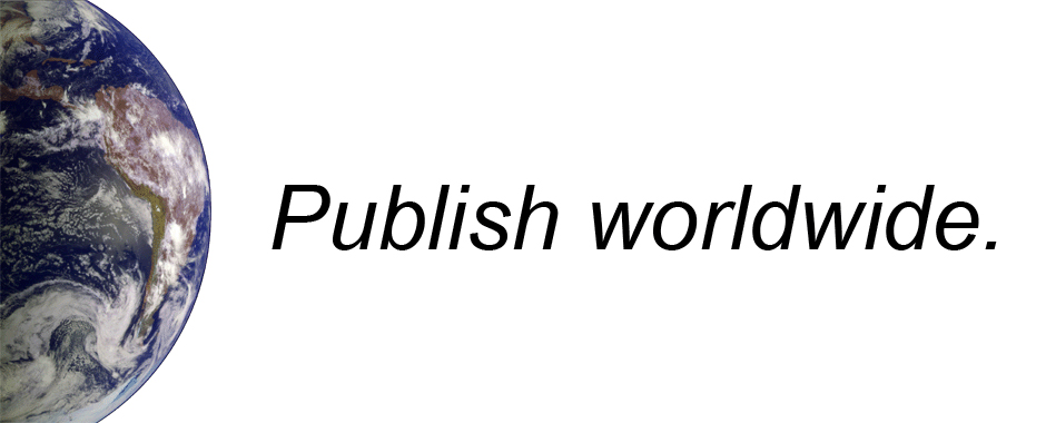 Publish worldwide.